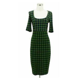 BAILEY 44 Green Pencil Dress